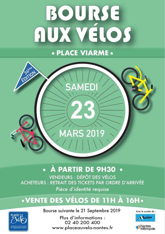 Bourse aux Vélos le 23 mars 2019